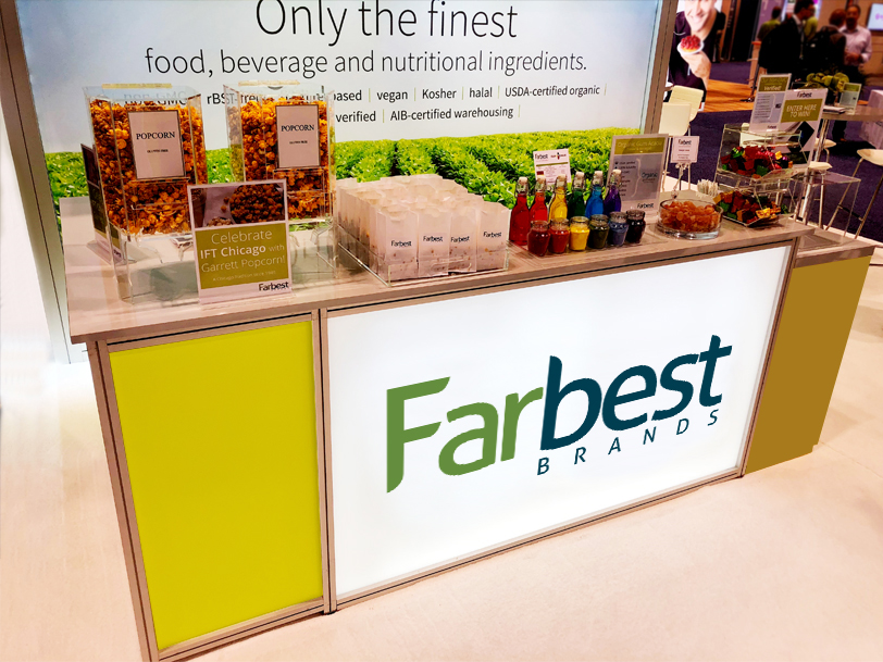 Farbest Trade Booth Counter