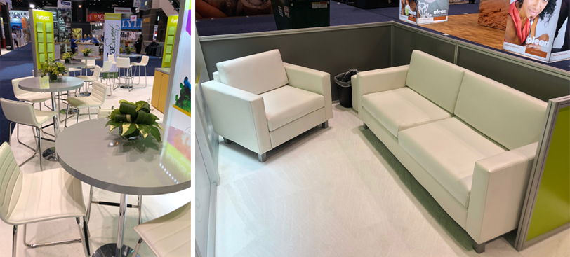 Farbest Trade Booth Seating